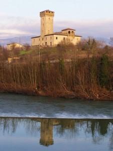 La Torre della Bandinella allo specchio