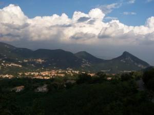 Cava de' Tirreni sul Golfo di Salerno