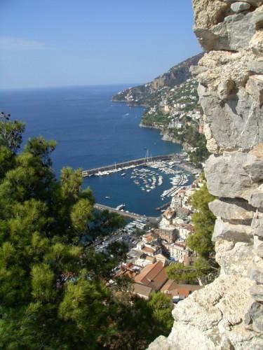 Amalfi - Amalfi vista dal castrum sul monte Aureo