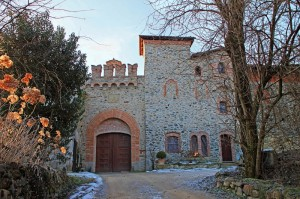 Mini castello a Strambinello
