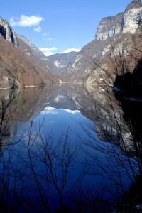 Riflessi di lago