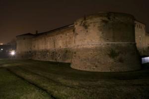 Rocca Costanza di notte