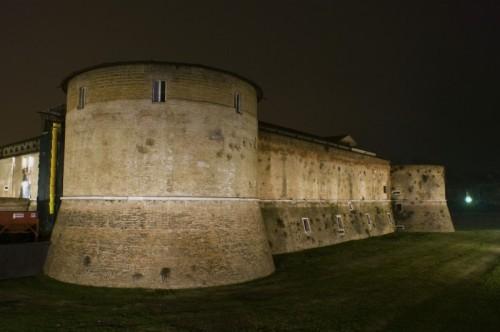 Pesaro - Rocca Costanza di notte #1