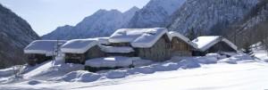 tipico villaggio Walser