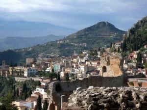 Taormina dal Teatro Greco