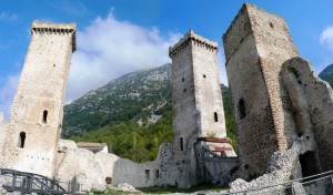 Le tre torri del castello