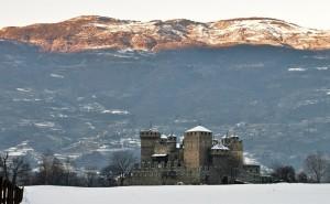 Castello fenis inverno2