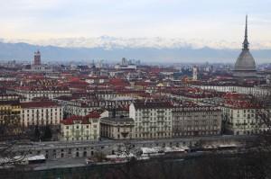Vista su Torino