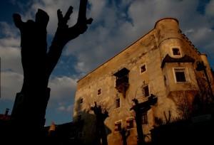 Il Castello di Dobbiaco al tramonto