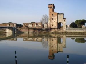 L'Arno come uno specchio