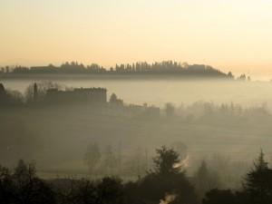 Sguardo sui colli… tra la nebbia