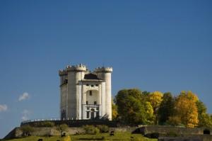 castello di Aymavilles, autunno