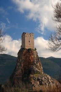 La torre sulla roccia