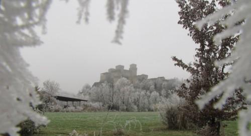 Langhirano - Cornice ghiacciata