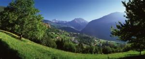 Gignod panorama, Valle d'Aosta