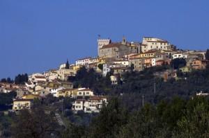 Panorama di Rosignano Marittimo