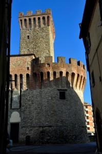 Rocca Guidalotti, ripresa verticale