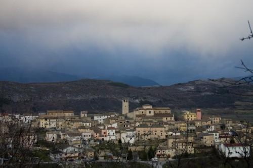 Caporciano - Una torre sul borgo