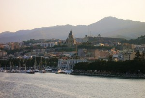Messina dal mare