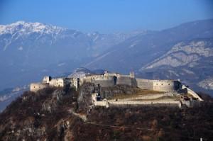 Castel Beseno - vista di insieme
