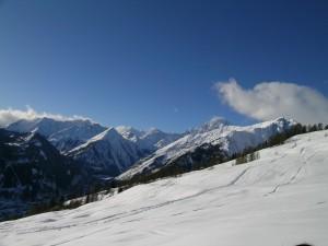 Il Monte Bianco da Lasalle