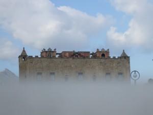 """""""Nebbia dal castello"""" (La Zisa)"""
