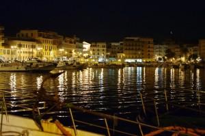 Anzio sera al porto