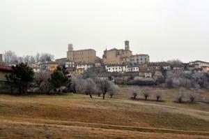 la chiesa e il castello