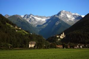Panorama di Campo Tures