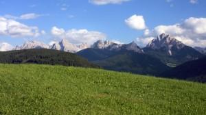 Panorama delle Dolomiti si Sesto