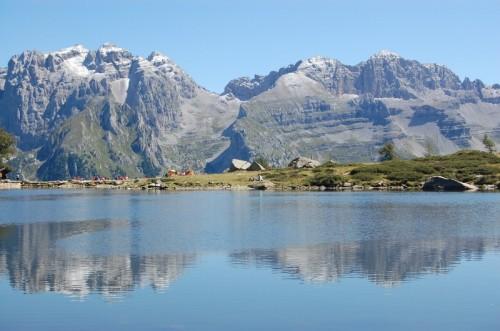 Pinzolo - laghetto alpino