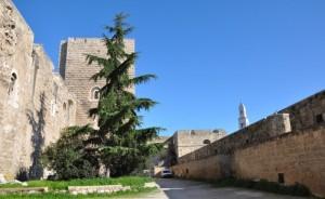 In mezzo tra il castello e le sue mura