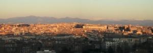 Roma panoramica dal Gianicolo