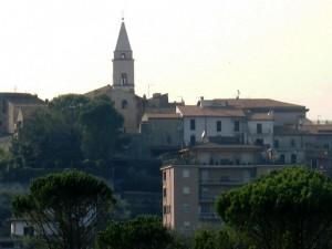 Il pino e il campanile