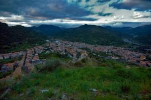 Tramonto su Francavilla di Sicilia