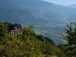 guadagnolo: la vallata del monastero