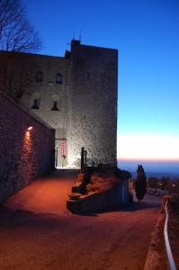 tramonto alla rocca!