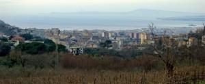 Gragnano, dal belvedere