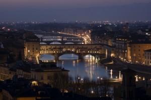 """  Notte ""  da Piazzale Michelangelo - Firenze -.#1"