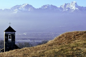 Foschia in Valbelluna