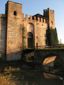 Ingresso al castello di Valbona