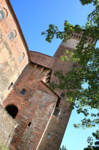 La torre del Castello di Rovasenda.