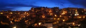 Sasso Barisano - Le luci della sera
