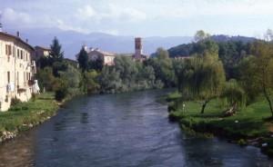 panorama rieti con fiume velino