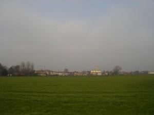 Panorama di Castelvetro Piacentino