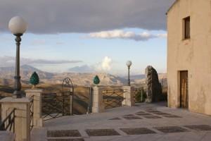 Comitini Palazzo Comunale vista Monte Cammarata