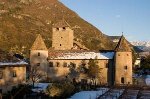 In centro a Bolzano : Castel Mareccio