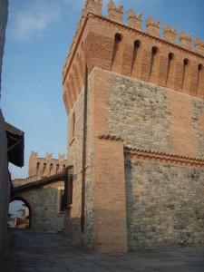 Dentro la Rocca di Montalfeo