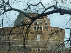 Castel Sant'Angelo tra i rami