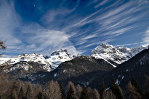 Cima Grostè e Cima Sella nelle Dolomiti di Brenta
